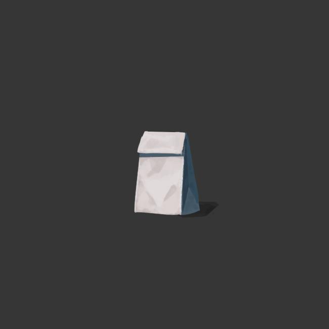 2019.01.22 - Some dumb paper bag