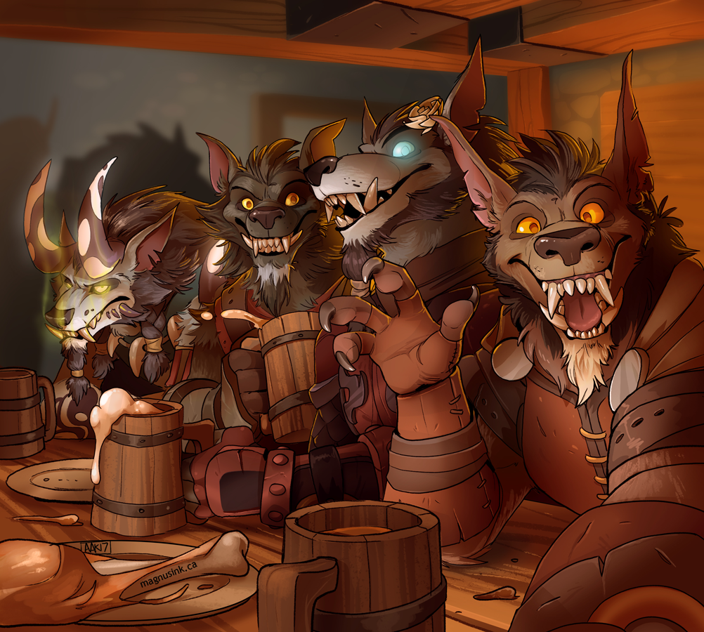 The Brothers Moon Tavern Selfie