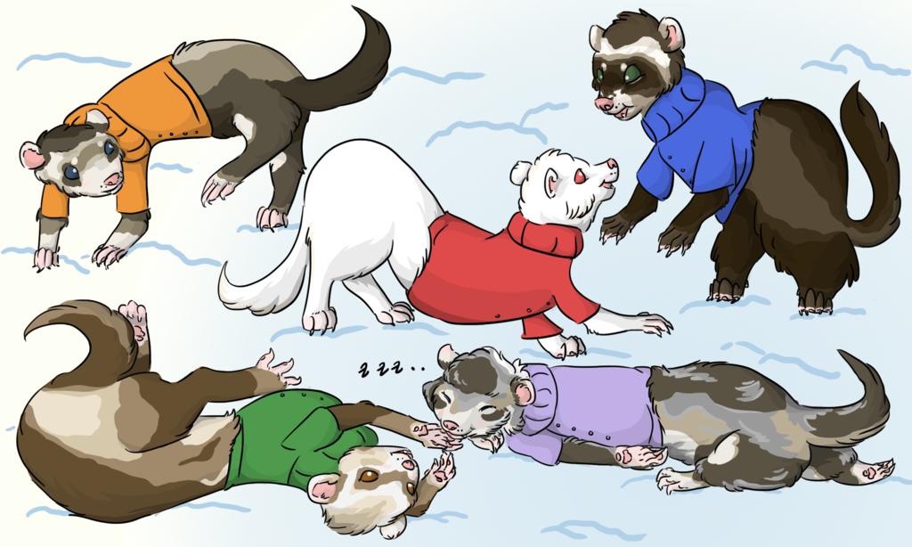 Warm Winter Fuzzies
