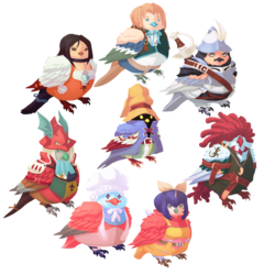 Bird Fantasy IX