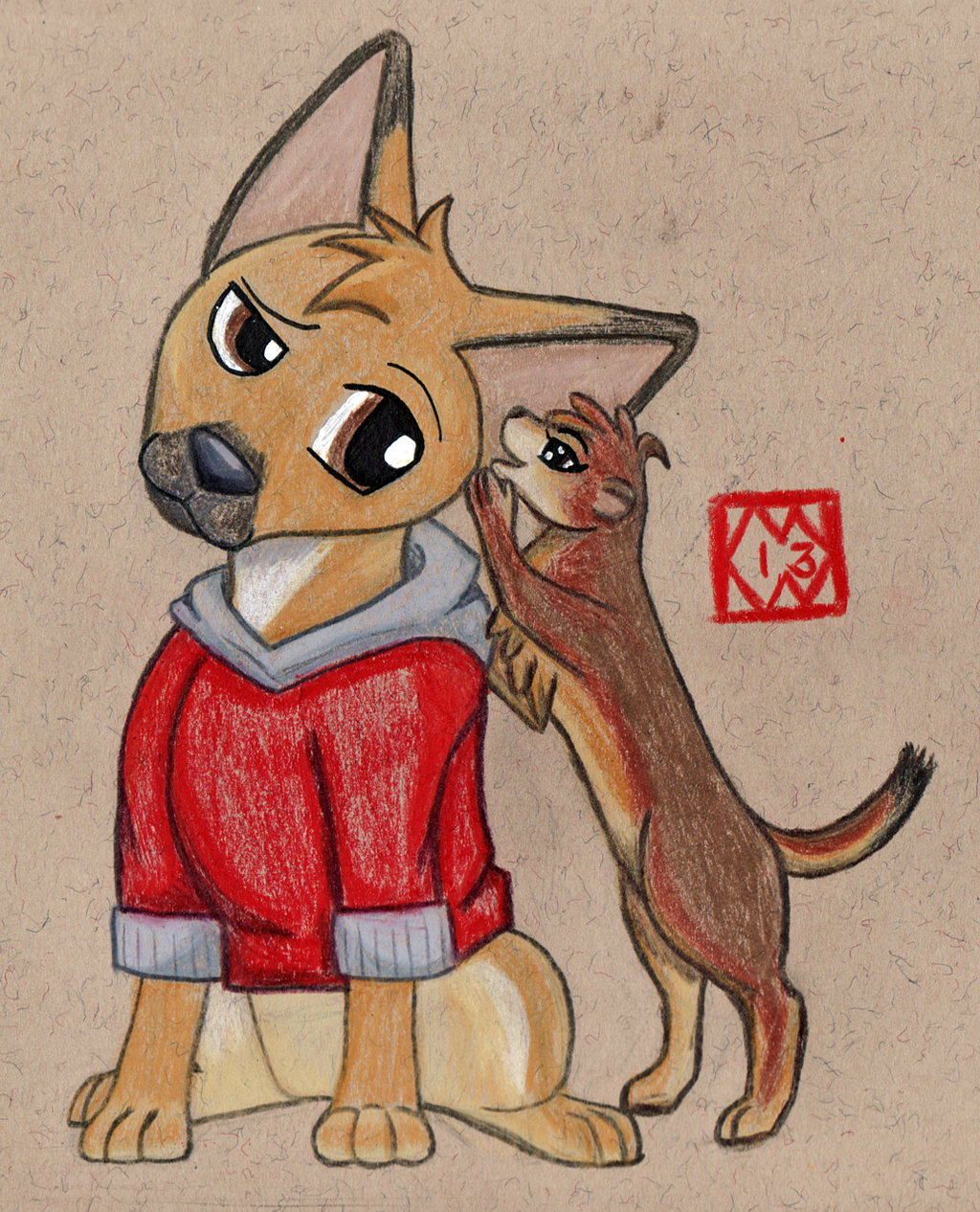 Animal Odd Couple
