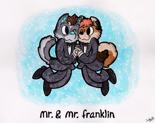 Mr. & Mr. Franklin - Couples Portrait