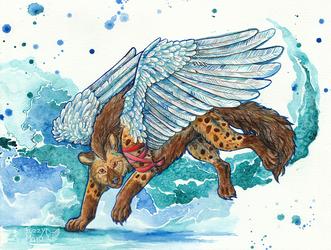 The angel hyena