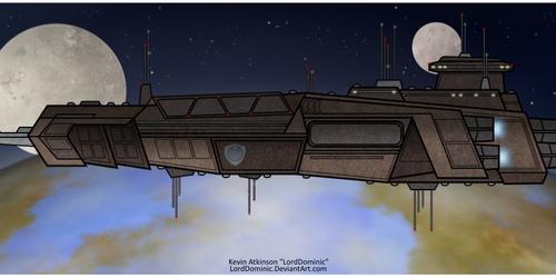 Hildegard-Class Orbital Defense Ship