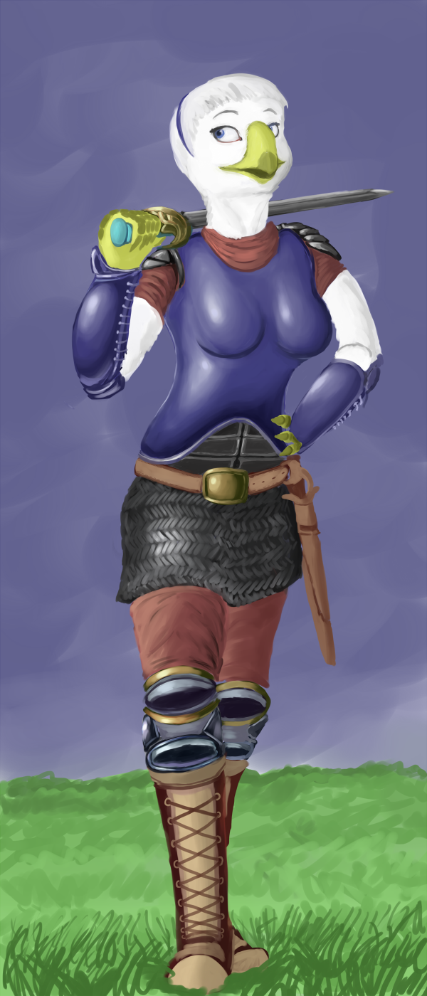 Diana, Aerie Soldier