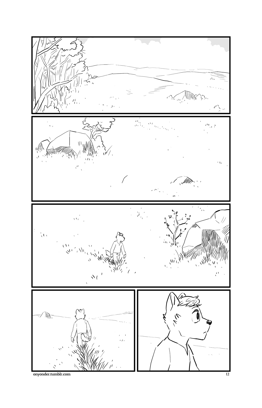 On Yonder Lea, full comic now free to read, link in desc