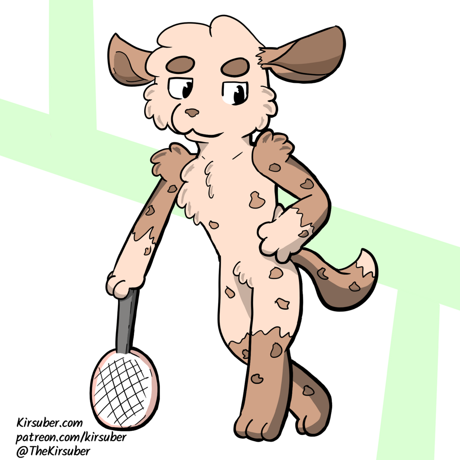 Most recent image: Playing Tennis
