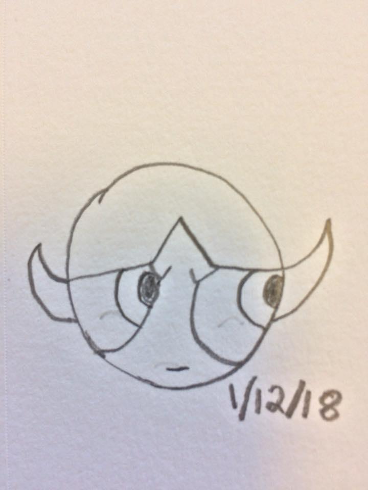 Buttercup doodle