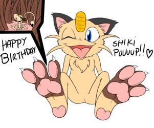 Happy birthday Shiki puuuup!