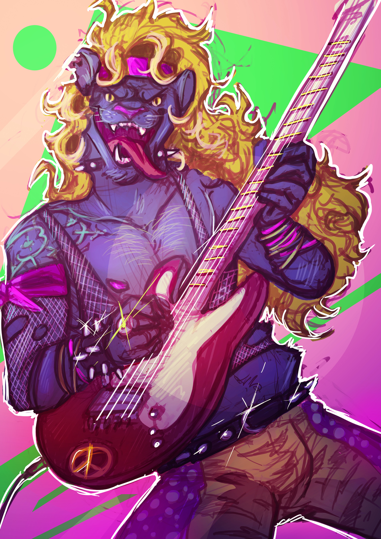 Digital Practice - Glam Rock Steel Panther