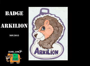 Badge para ArkiLion