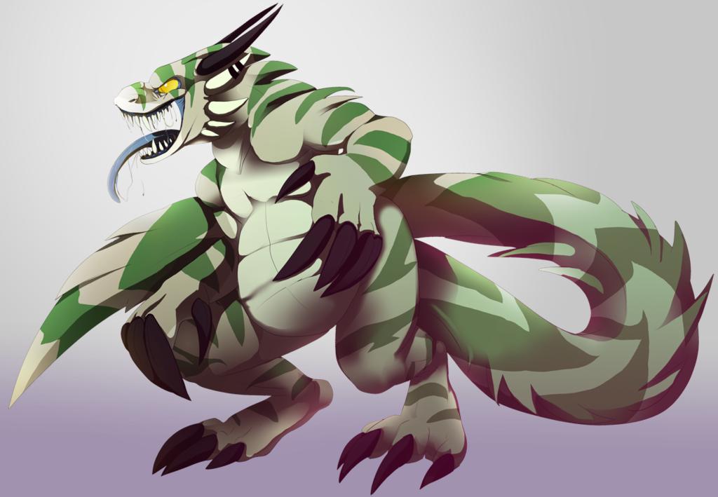 Most recent image: Demon lizard