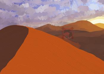 [Inktober 2020] Day 13 - Dune