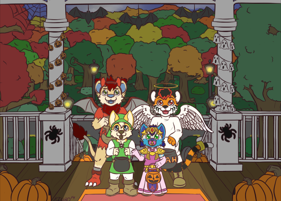 Trick or Treat~!