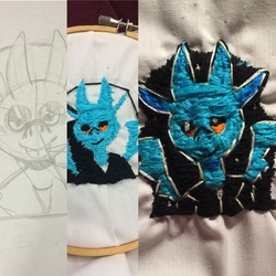 Embroidery Rigby