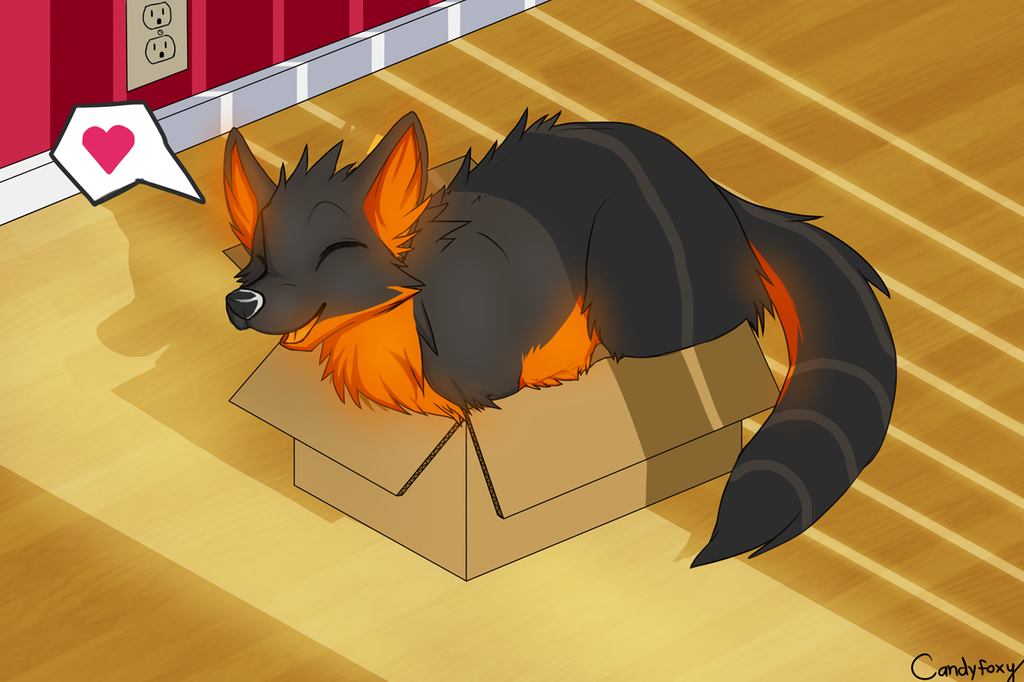 Viverviperi YCH Commission - If it fits, I sits!