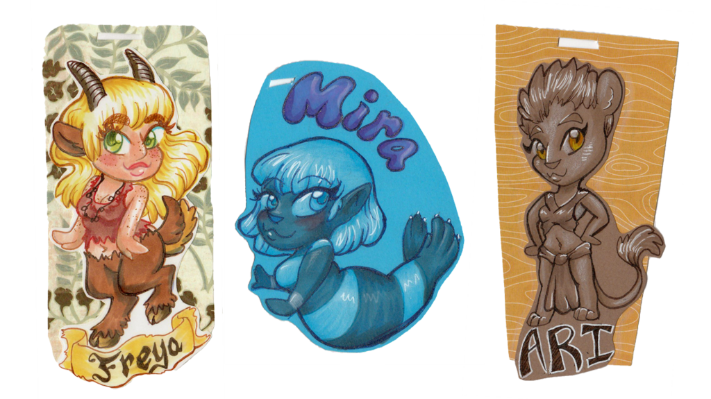 Chibi Badges