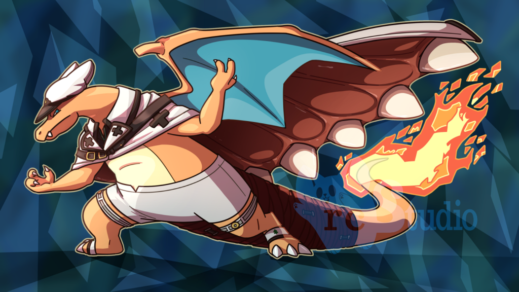 Most recent image: [Comm] Ramlethal Charizard