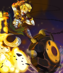 Play Of The Day! (Commission Art)