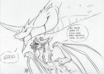 Alita and Rorkus - A random sketch