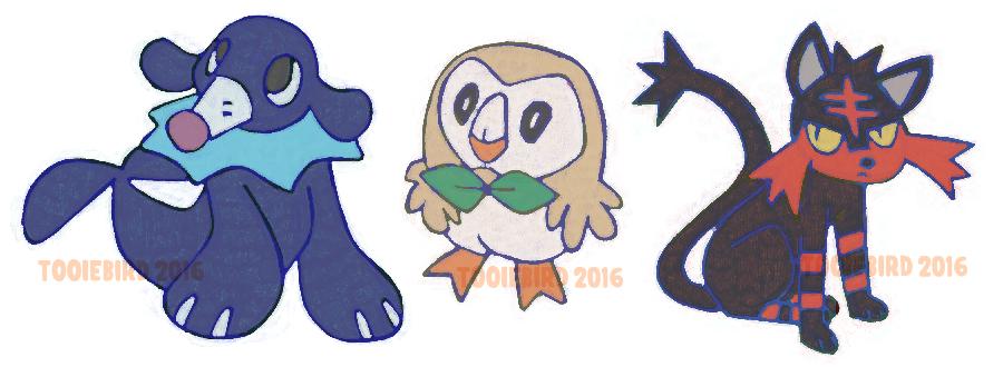 Pokemon Starters!