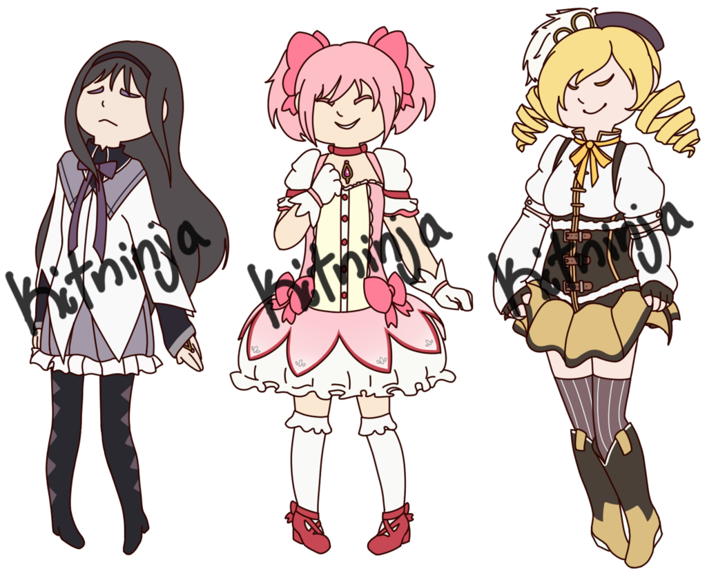 Magical Girl Stickers