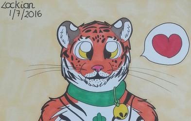 Siberian Tiger Plush