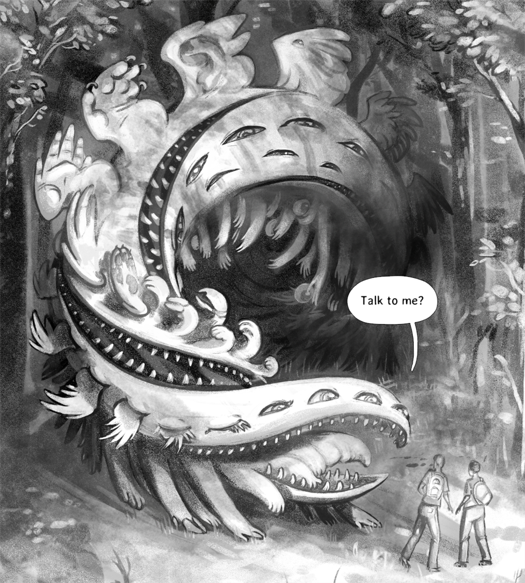 New World: A sci-fi/fantasy comic anthology