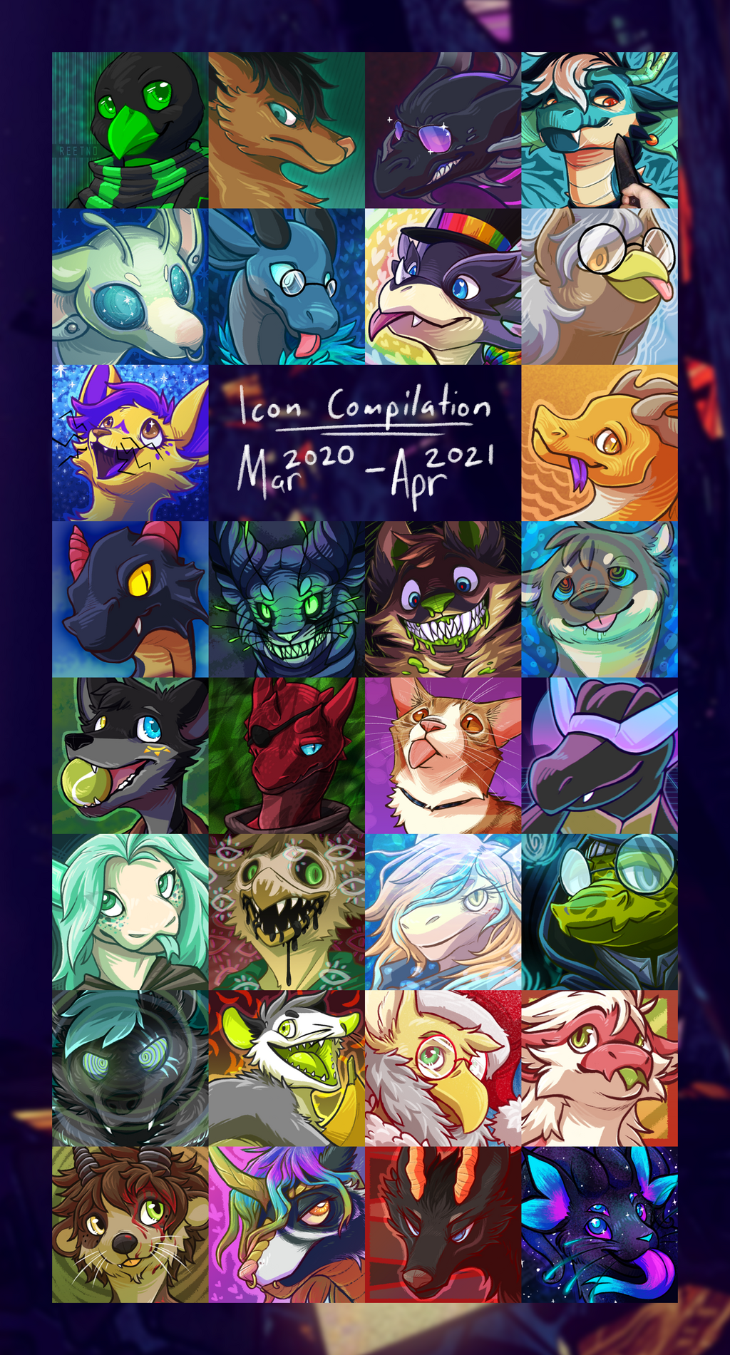 [com] Mar 2020 - Apr 2021 Icons