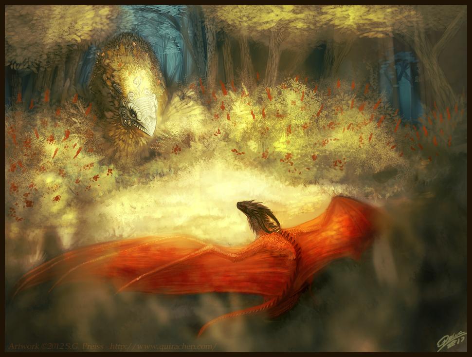 Rýkaran and the phoenix of Mount Minara