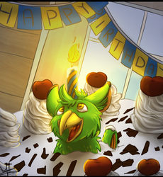 Happy B-day from Reclus!
