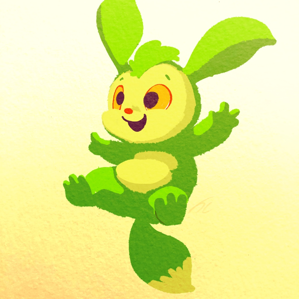 A spring time forest critter appears!