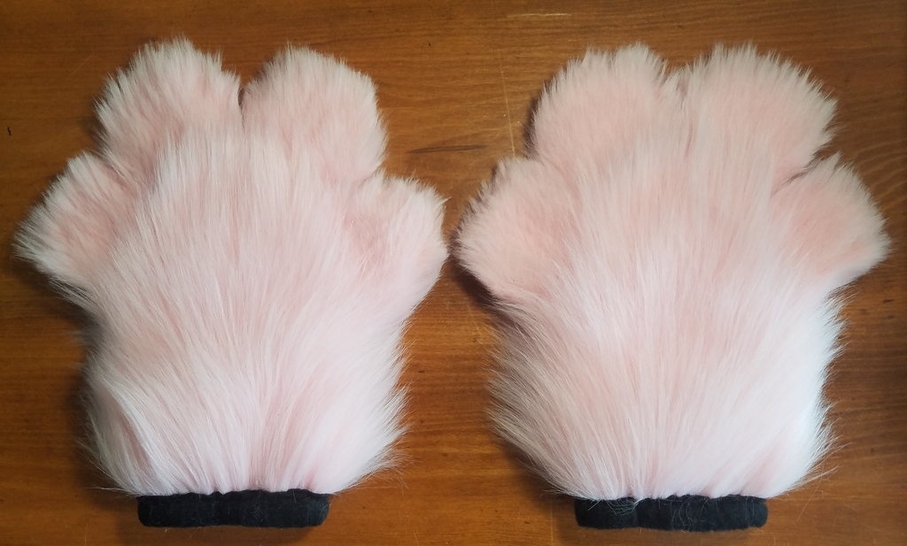 Pink Toony Paws (Back)