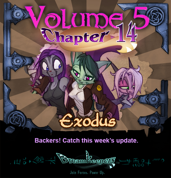 Volume 5 page 62 Update Announcement
