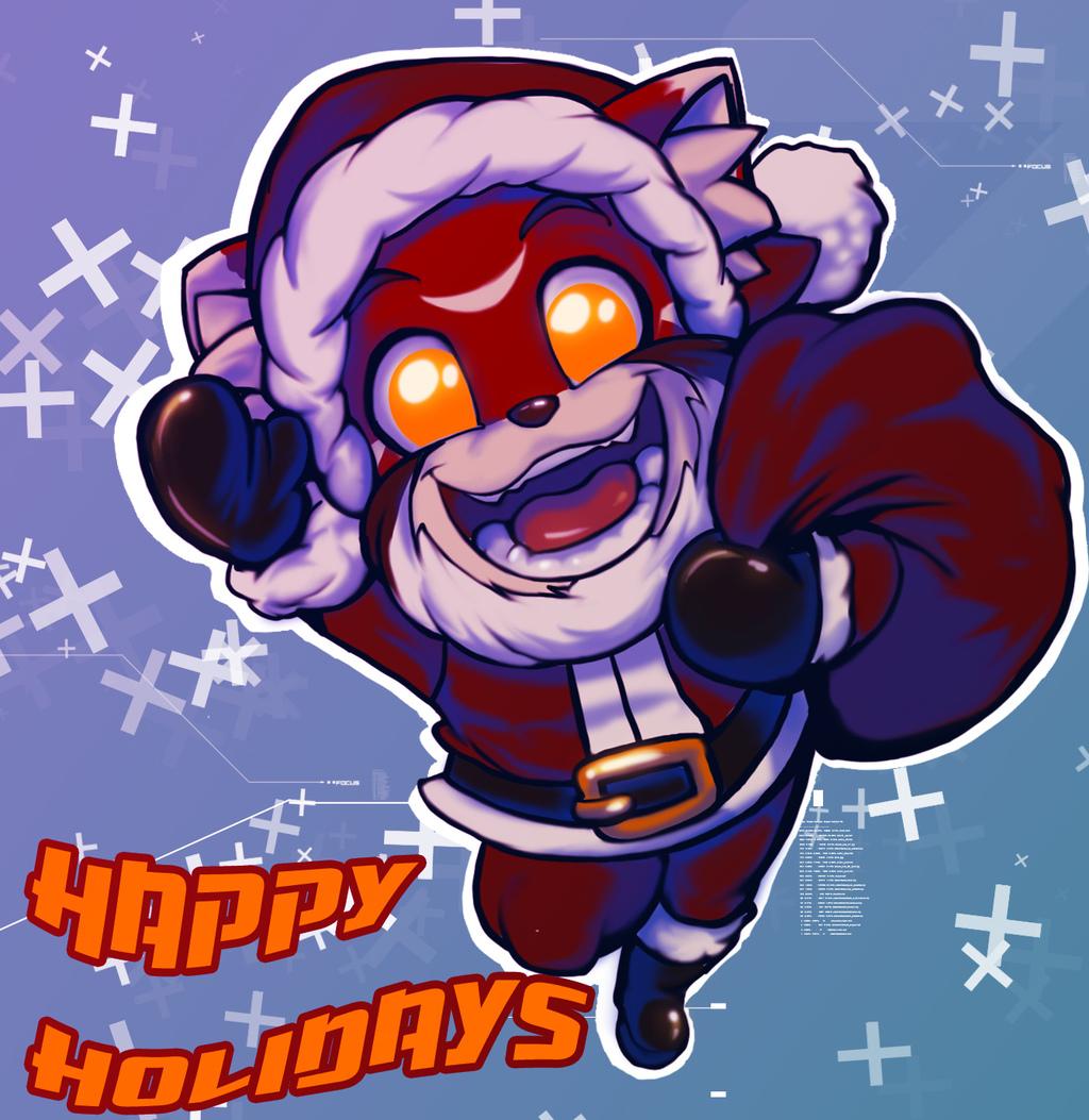 Happy Holidays Dude
