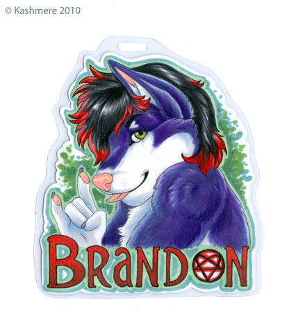 Brandon badge by Kashmere