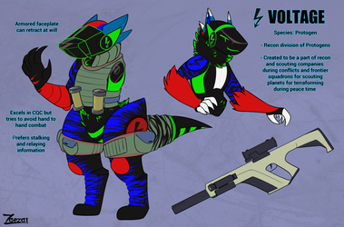 Voltage the Protogen