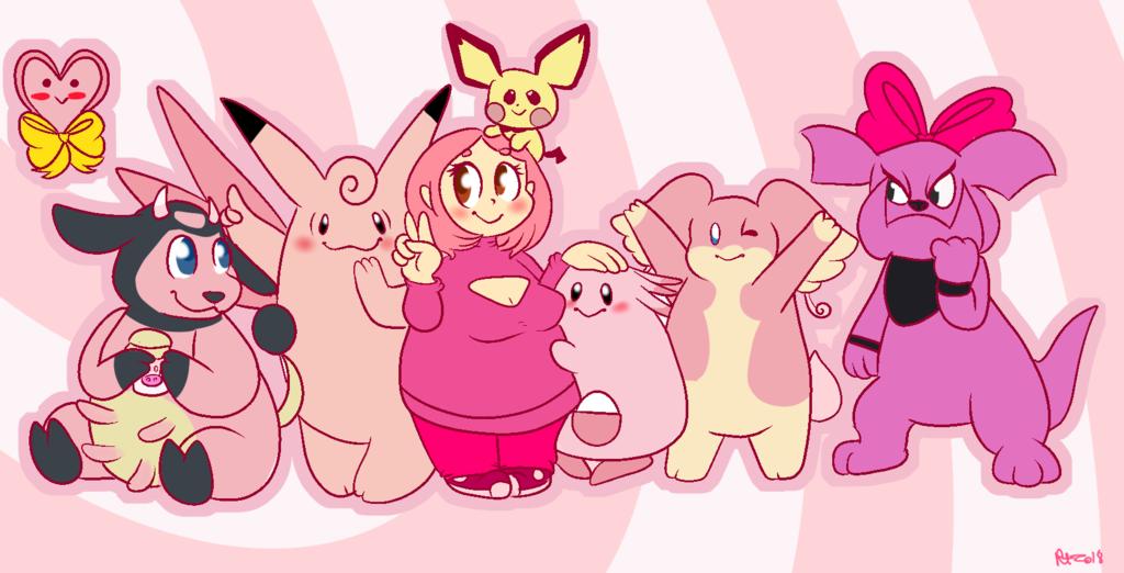 Gymleadersona-pink and fat