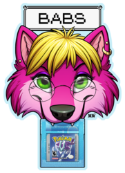 Babs Chomp Badge