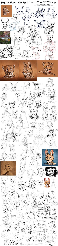 Sketchdump #15 Pt1