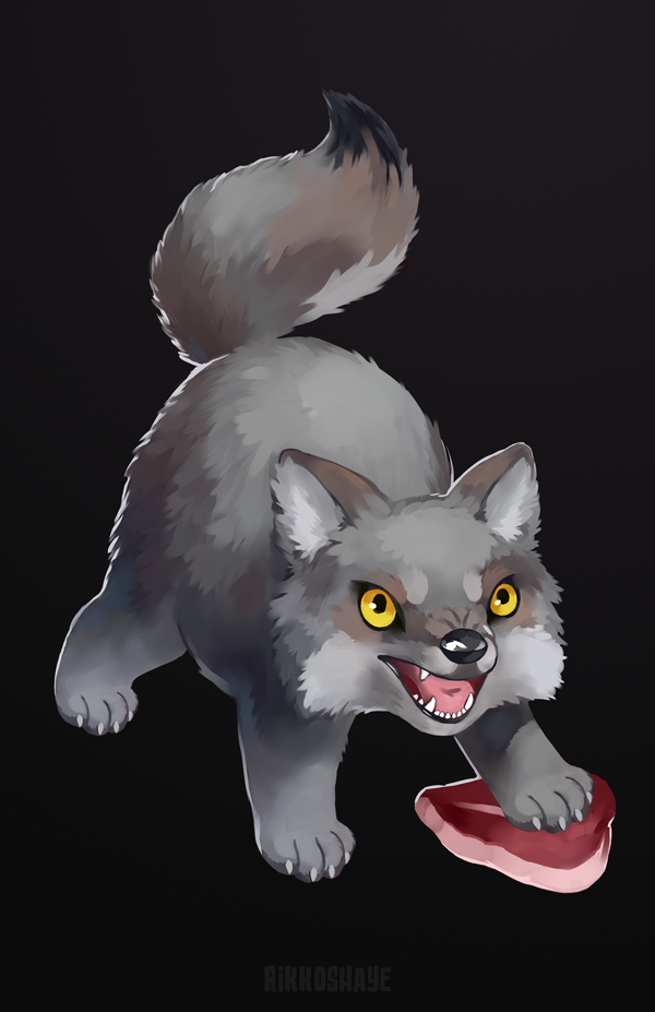 Fluffy Wolfy