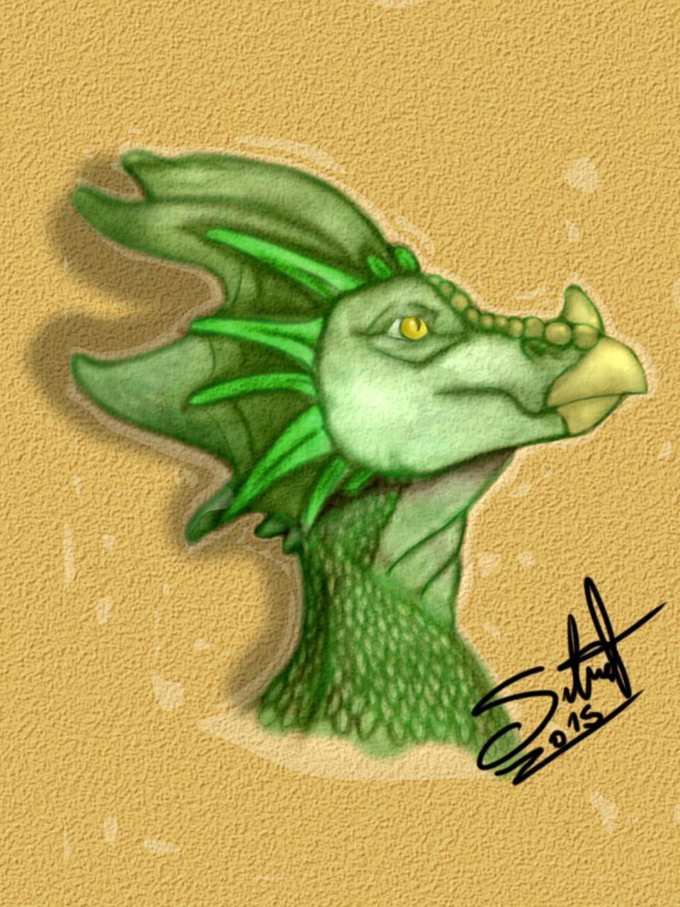 Dragon heashot