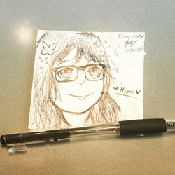 Work Doodles - Kiomi