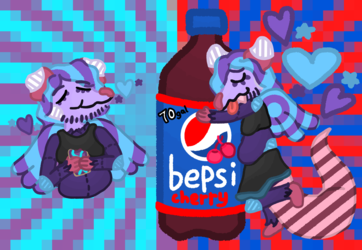 Funney Opossum Monch and Sip
