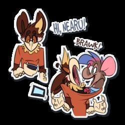 Hi Nearu (Sticker)