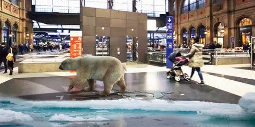 Augmented Reality Advertisement Las Vegas, USA