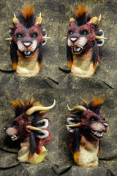 Shade the Charr Head