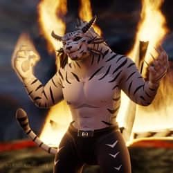 Cool Charr Don't Look at Explosions