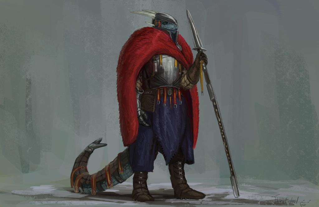Northern dragonoid warden