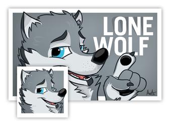 Badge + Icon for Lonewolf